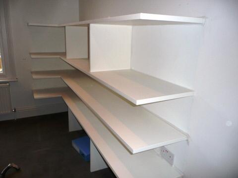 office storage shelves