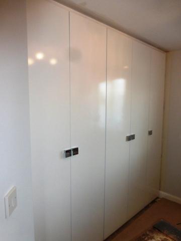 custom gloss wardrobes