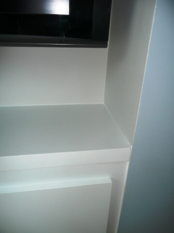 made to measure painted fitted alcove units